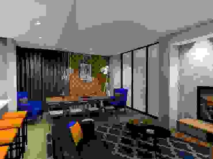 living room : modern  by AB DESIGN, Modern