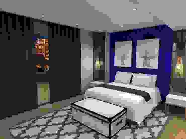 main bed: modern  by AB DESIGN, Modern