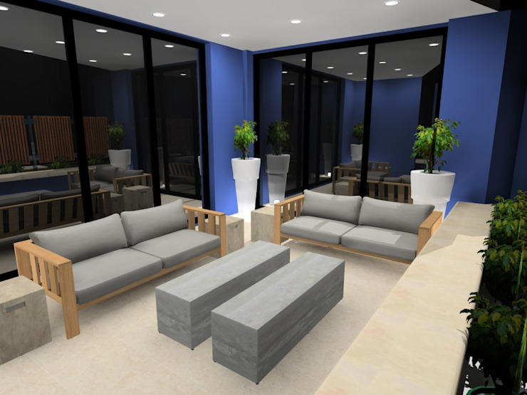 terrace : modern  by AB DESIGN, Modern