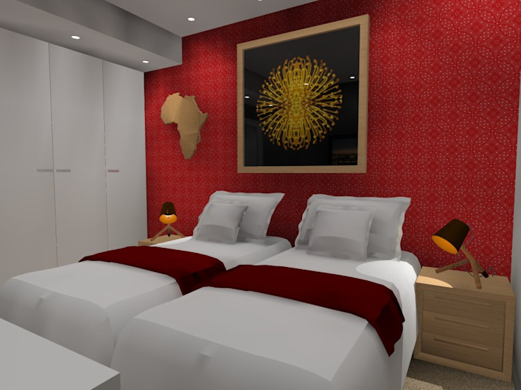 2nd bed : modern  by AB DESIGN, Modern