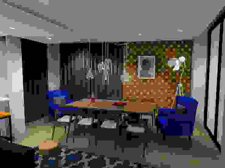 dinging room : modern  by AB DESIGN, Modern