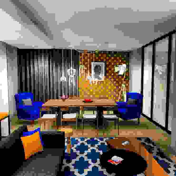 dining room : modern  by AB DESIGN, Modern