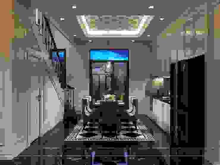 Design for Villa - In Neoclassic Style Nhà bếp phong cách hiện đại bởi ICON INTERIOR Hiện đại