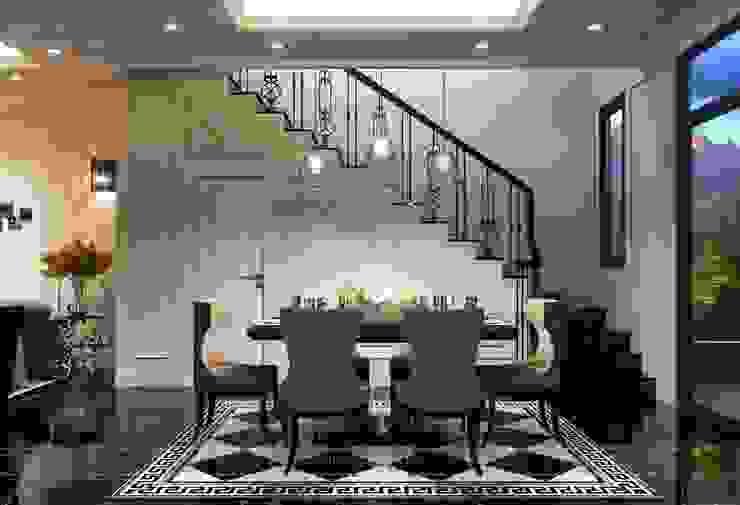 Design for Villa – In Neoclassic Style Phòng ăn phong cách hiện đại bởi ICON INTERIOR Hiện đại