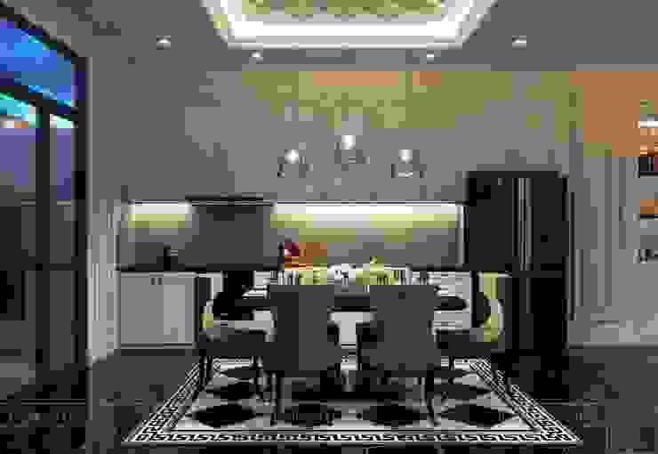 Design for Villa – In Neoclassic Style Nhà bếp phong cách hiện đại bởi ICON INTERIOR Hiện đại