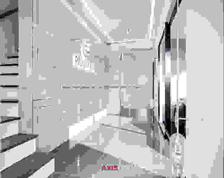 Interior design : ออกแบบตกแต่งภายใน Perspective3D (คุณคุณณัฐธยาน์) : ทันสมัย  โดย บริษัทแอคซิสลาย จำกัด, โมเดิร์น หินอ่อน