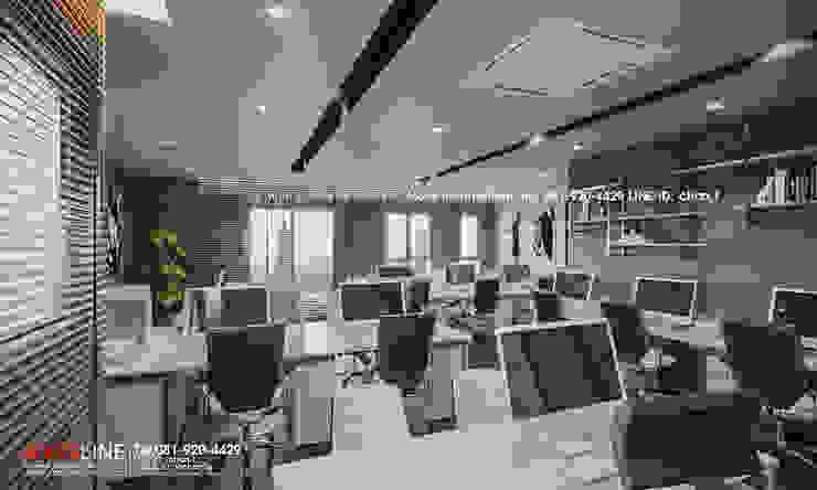 Interior design : ออกแบบตกแต่งภายใน Perspective3D (คุณคุณณัฐธยาน์) : ทันสมัย  โดย บริษัทแอคซิสลาย จำกัด, โมเดิร์น