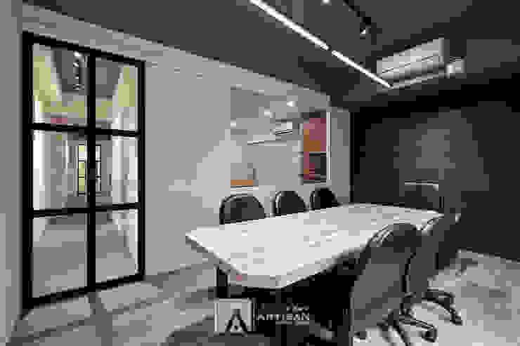 會議室 根據 芸匠室內裝修設計有限公司 工業風 塑木複合材料