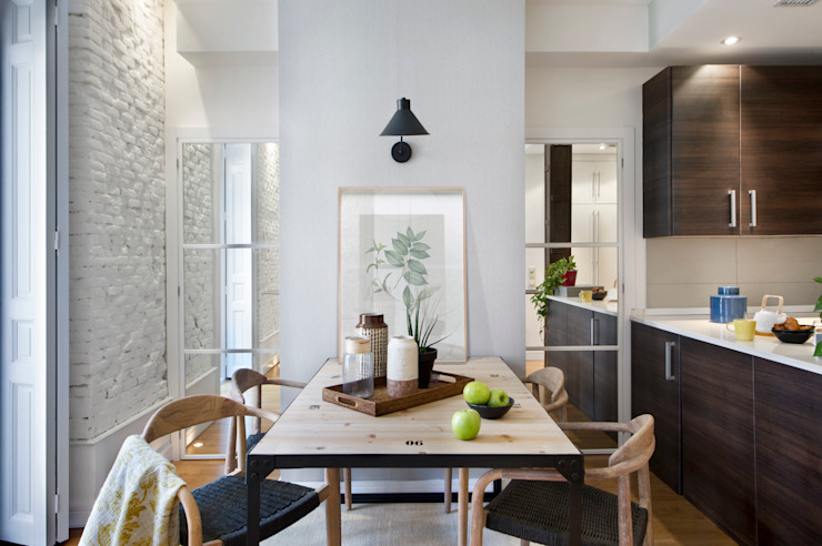 Eclectic style dining room by Egue y Seta Eclectic