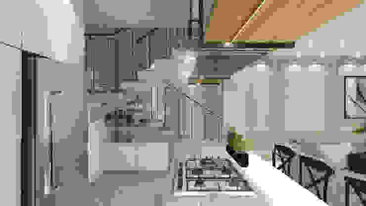 Casa DL Cozinhas modernas por ZOMA Arquitetura Moderno
