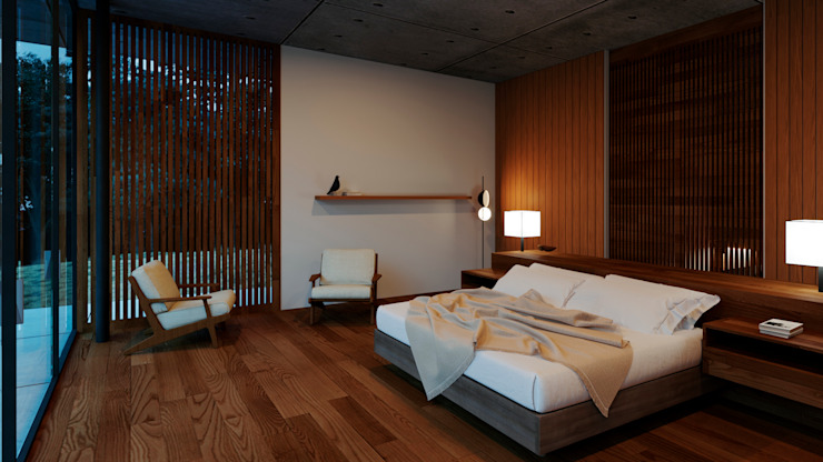 modern  oleh TW/A Architectural Group, Modern Kayu Wood effect
