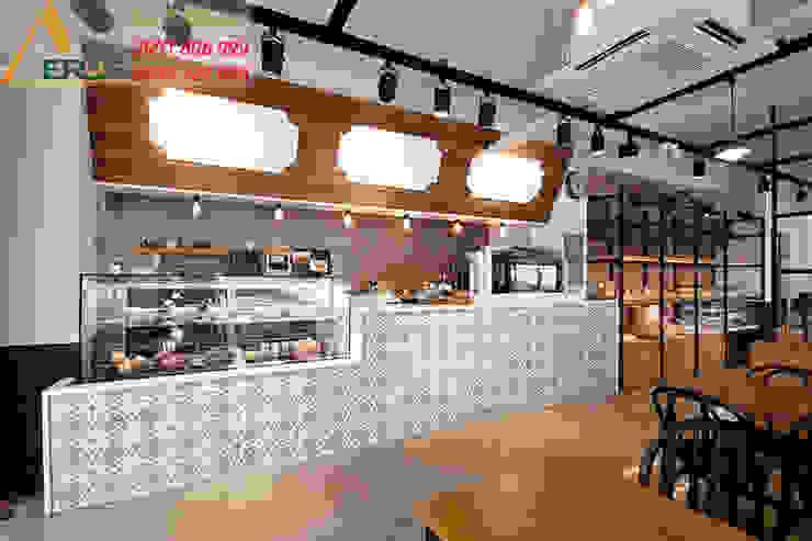 Thiet ke thi cong quan cafe Upon a time - Phu Nhuan bởi xuongmocso1 Nhiệt đới