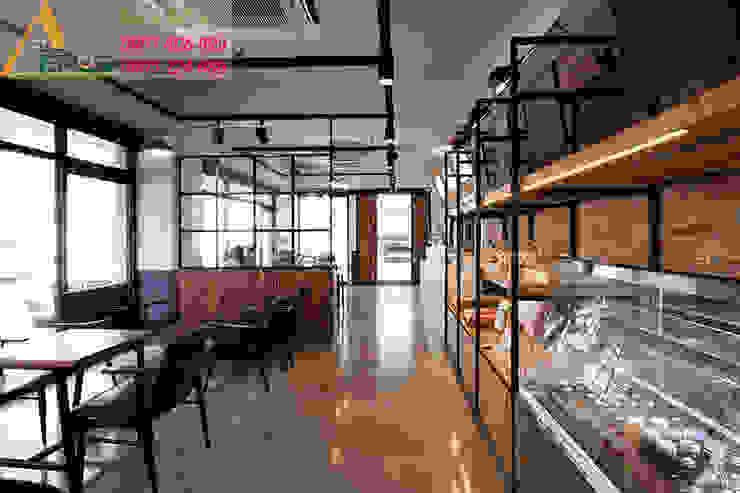 Thiet ke thi cong quan cafe Upon a time – Phu Nhuan bởi xuongmocso1 Nhiệt đới