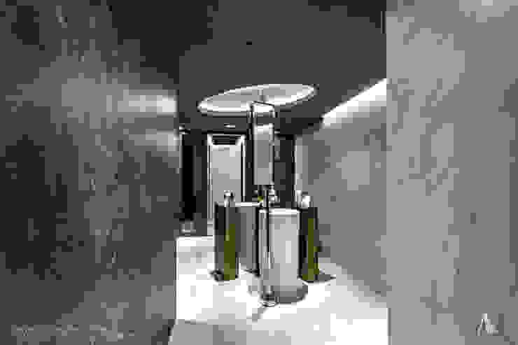 Washroom 根據 Brilliant Design & Construction Ltd. 現代風