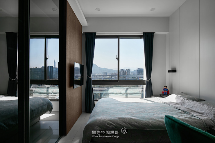 台北市 內湖區 劉公館 顥岩空間設計 臥室