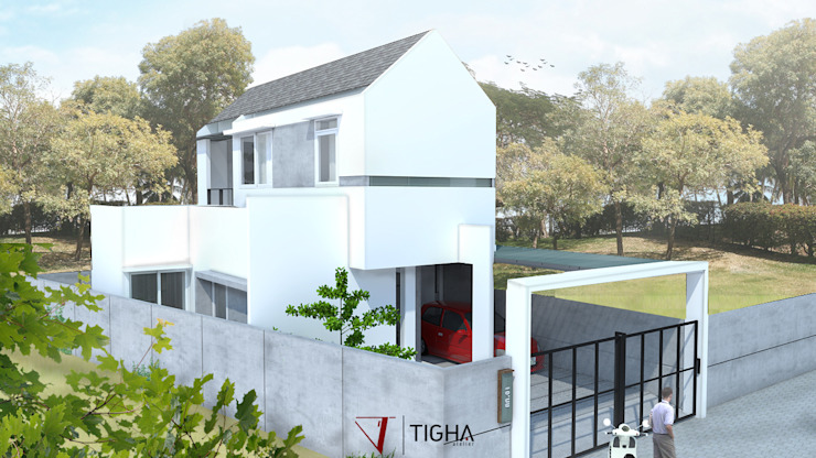 Modern houses by Tigha Atelier Modern
