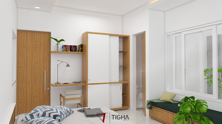 Modern style bedroom by Tigha Atelier Modern