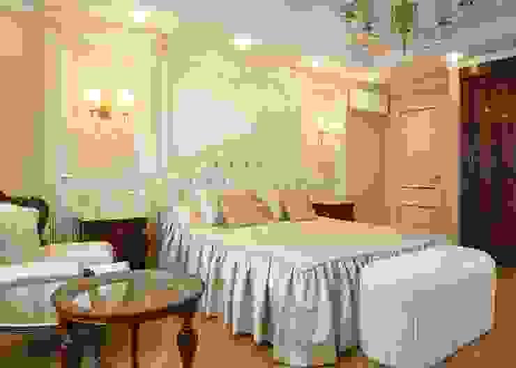 Частный интерьер Спальня в классическом стиле от Hardbark Классический Изделия из древесины Прозрачный