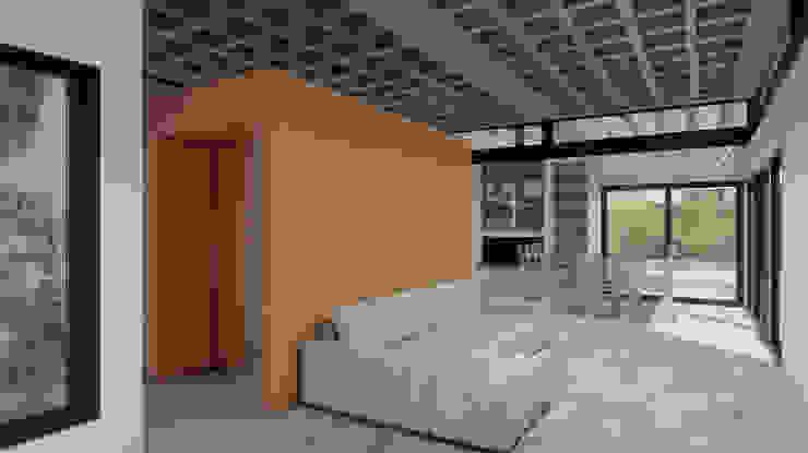 Diseño de Casa en Cañitas 01 por 1.61 Arquitectos Livings modernos: Ideas, imágenes y decoración de 1.61 Arquitectos Moderno