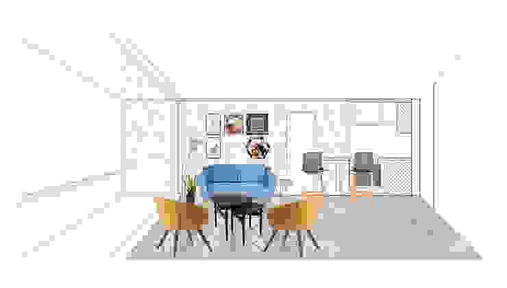 REMODELACION DEPARTAMENTO COMPLETO de Estudio Arquitectura y construccion PR/ Remodelaciones y Diseño de interiores / Santiago, Rancagua y Viña del mar