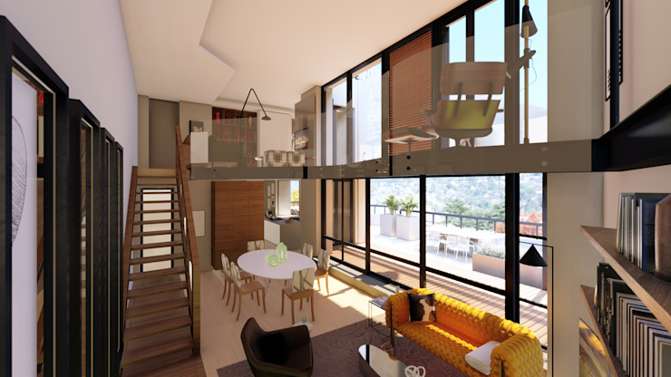 Apartment Renovation Modern living room by Inline Spaces Pty Ltd Modern