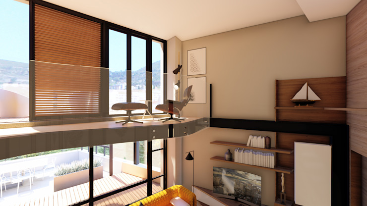 Apartment Renovation by Inline Spaces Pty Ltd Modern