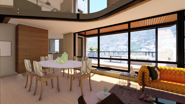 Apartment Renovation Modern dining room by Inline Spaces Pty Ltd Modern