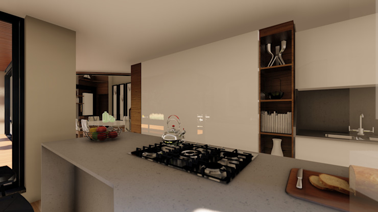 Apartment Renovation Modern kitchen by Inline Spaces Pty Ltd Modern
