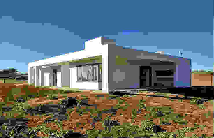 En obra Casas de estilo minimalista de 1.61 Arquitectos Minimalista