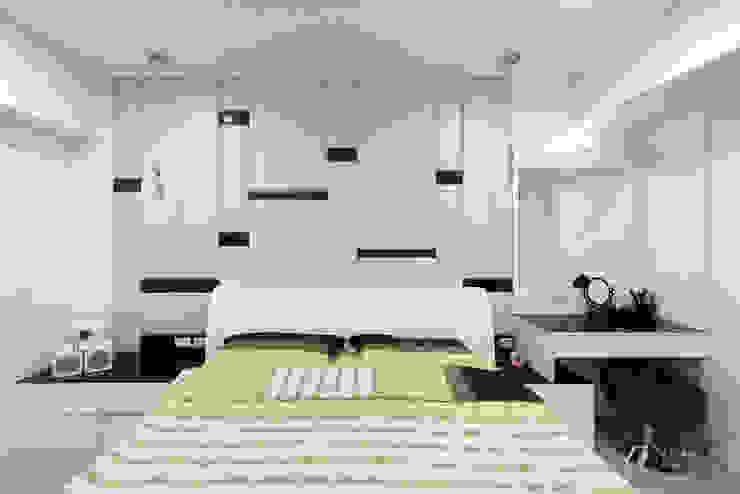 主臥室床頭背牆 根據 元作空間設計 現代風