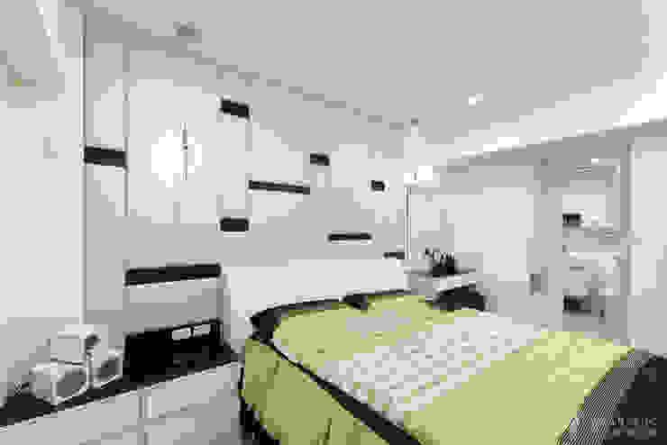 主臥室床頭櫃 根據 元作空間設計 現代風