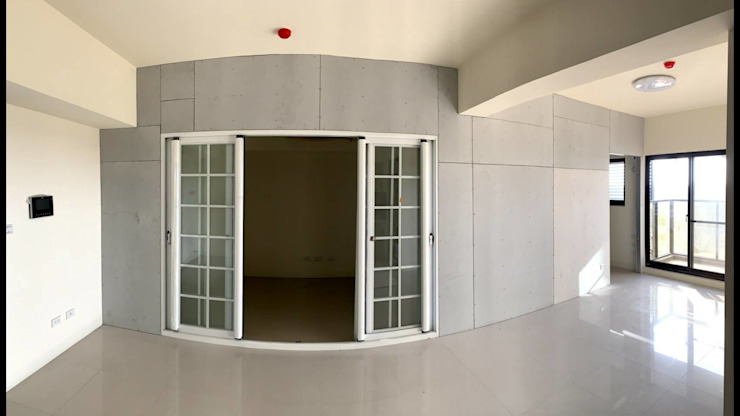 兩房一廳原始樣貌: 斯堪的納維亞  by 知森數位開發有限公司, 北歐風