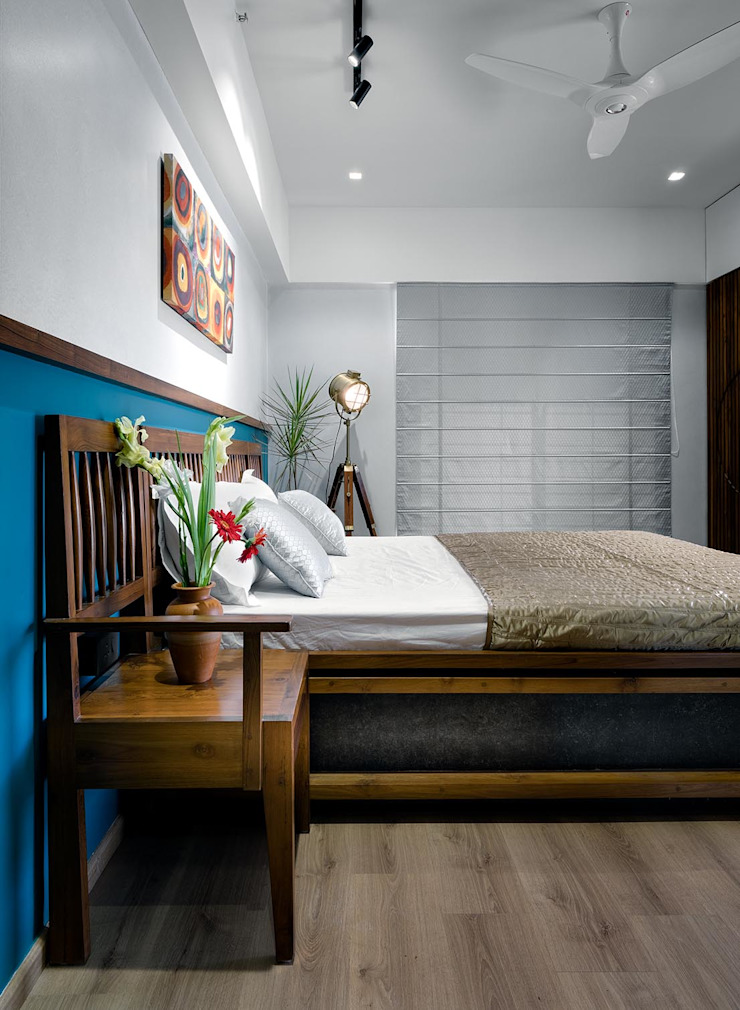Linear Progression Modern style bedroom by Space It Up Modern