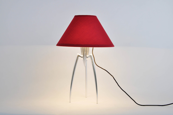 Capello Lampshade betec Licht AG Dining roomLighting Red