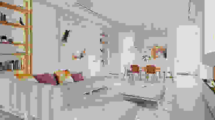 Suiten7 Living room Beige