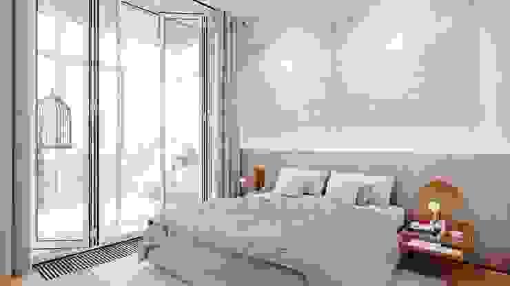 Suiten7 Industrial style bedroom Marble Beige