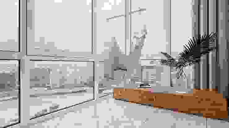 Suiten7 Balcony Ceramic Beige