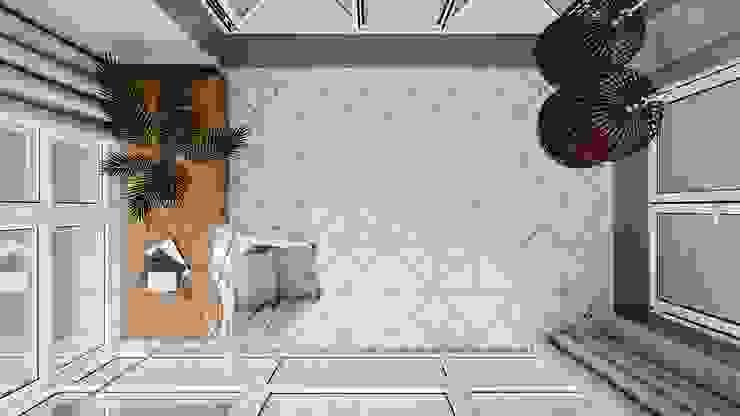 Suiten7 Balcony Ceramic White