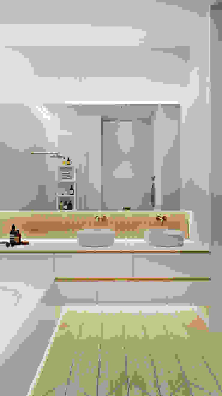 Suiten7 Industrial style bathroom Copper/Bronze/Brass Amber/Gold