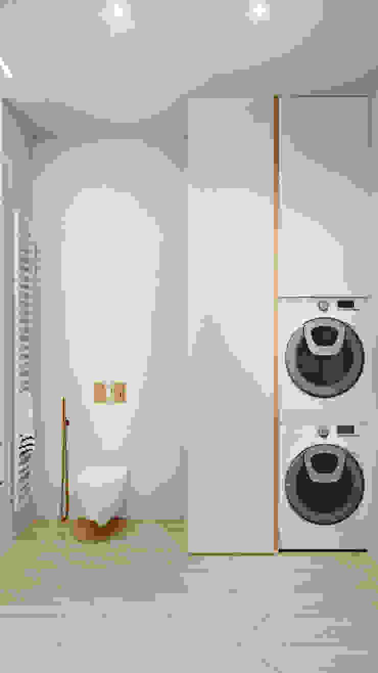 Suiten7 Industrial style bathroom Copper/Bronze/Brass White