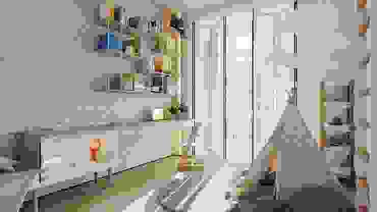 Suiten7 Nursery/kid's room Beige