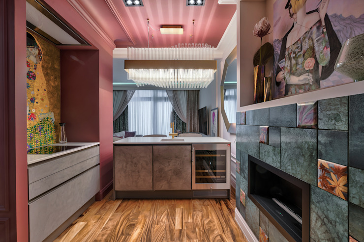 Industrial style kitchen by Eli's Home Industrial