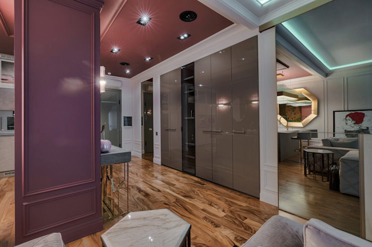 Modern corridor, hallway & stairs by Eli's Home Modern