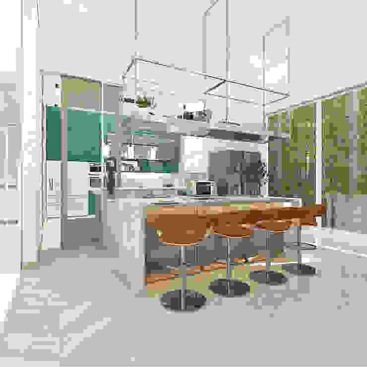 Kitchen and mini bar Oleh PT. Mimo Interior Asia