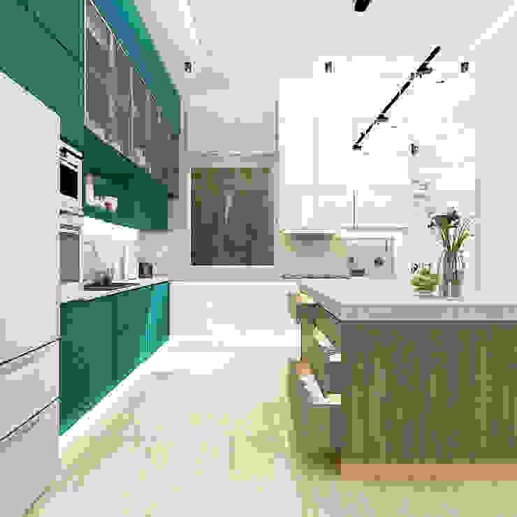 Kitchen set 2 (Perspektif Lain) Oleh PT. Mimo Interior Asia