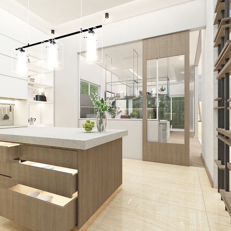 Kitchen Set Oleh PT. Mimo Interior Asia