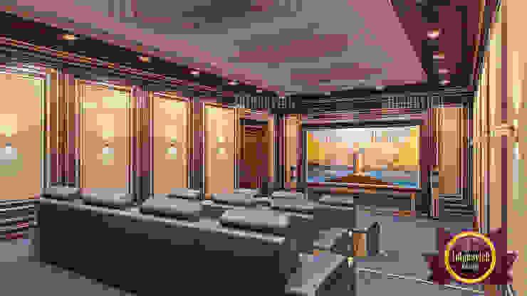 Stunning Home Cinema Design by Luxury Antonovich Design