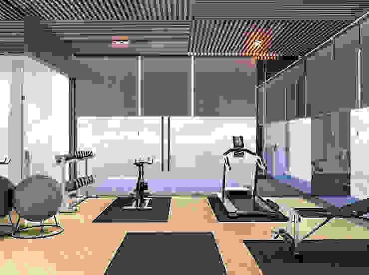 Ruang Gym Oleh PT. Mimo Interior Asia