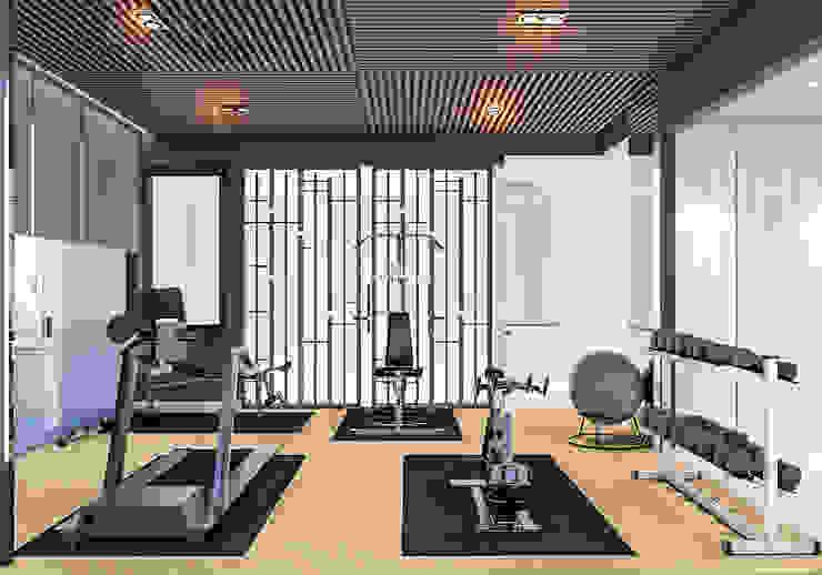 Ruang Gym (Tampak Samping) Oleh PT. Mimo Interior Asia