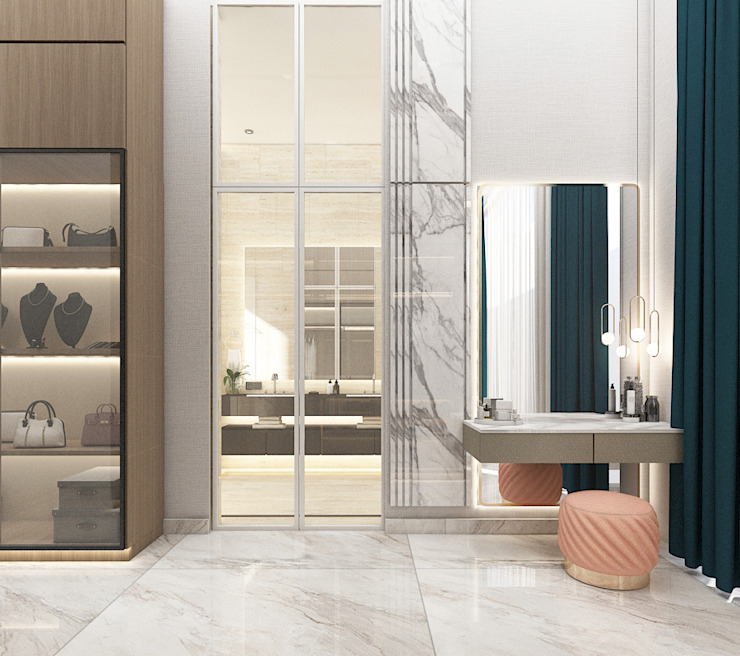 Powder Room Oleh PT. Mimo Interior Asia